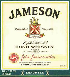 jameson irish whiskey haskell39s With jameson whiskey label template
