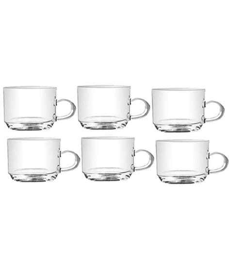 Here is a look at a few of them: Yujing Glass Coffee Cup 6 Pcs: Buy Online at Best Price in India - Snapdeal