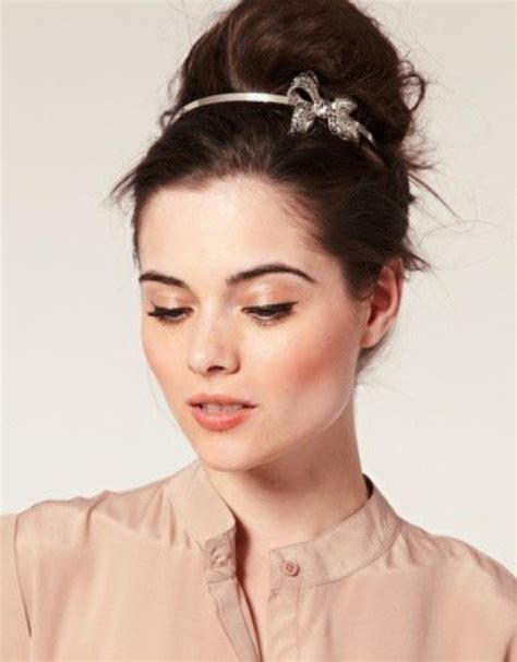 easy updos    wear  work women hairstyles
