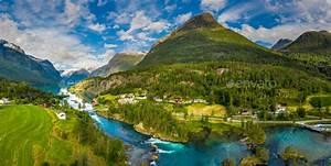 Panorama, Lovatnet, Lake, Beautiful, Nature, Norway, Stock, Photo, By, Cookelma