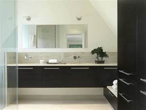 floating double vanity bathroom midcentury with mid