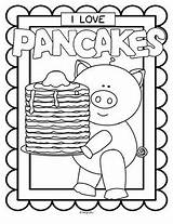 Pancake Pancakes Coloring Printables Posters Pages Colouring Teacherspayteachers Kidsparkz Activities Teachers Theme Pay Nutrition Letter Sold sketch template
