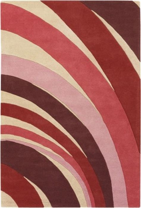 colorful kitchen rugs counterfeit studio shades of pink modern rug 2350