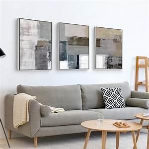 Tableau Moderne Salon : cuadros decoracion abstracta quadros de parede para quarto tableau decoration murale salon ~ Teatrodelosmanantiales.com Idées de Décoration