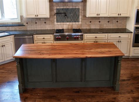 kitchen island butcher spalted pecan wood countertop photo gallery by devos