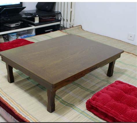 xcm rectangle korean table legs foldable living room