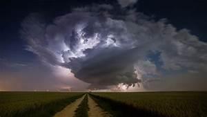 Nature, Landscape, Clouds, Supercell, Nature, Storm