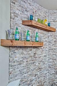 19+ Rustic Wall Shelves Living Room Designs DesignTrends