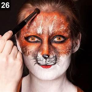 Karneval Gesicht Schminken : fuchs schminken karneval make up tutorial ~ Frokenaadalensverden.com Haus und Dekorationen