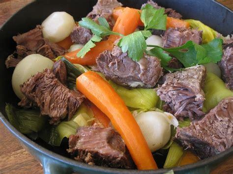 cuisiner pot au feu pot au feu au paleron de bœuf la recette facile