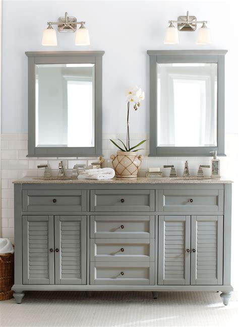 gorgeous  grey double  fun  bath vanity