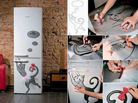 decorating refrigerator home design garden