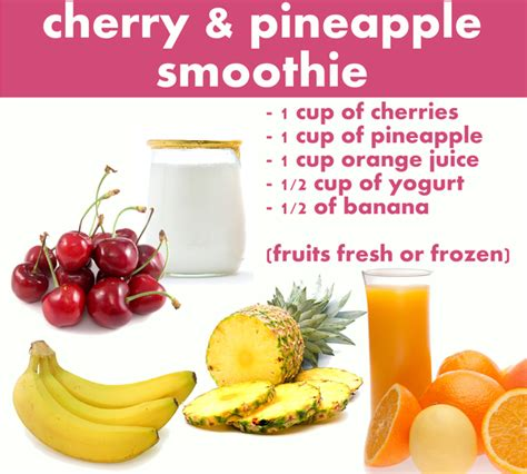 fruit smoothie recipes breakfast smoothie recipes for fall