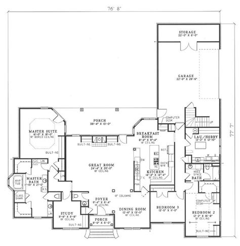 shaped house plans  shaped ranch house plans house