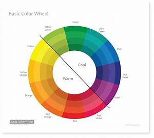 Warm And Cool Color Wheel Chart