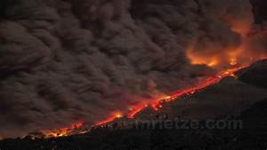 Sinabung Pyroclastic Flows - YouTube