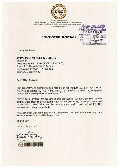 Letter Request Dilg Received Check Pcij Aguirre