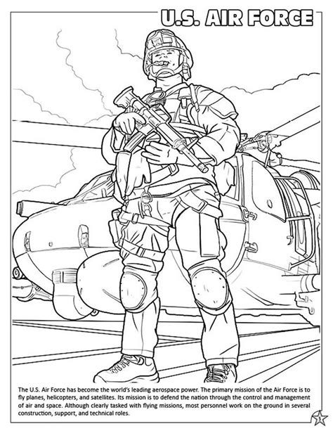 coloring books  armed forces coloring activity book