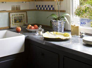 plan de travail en zinc pour cuisine refaire sa cuisine pas cher le must des idées faciles