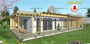 Prix Kit Maison Bois : terrasse couverte bois en kit ~ Premium-room.com Idées de Décoration