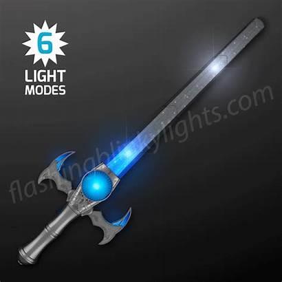 Sword Medieval Icy Toy Led Lights Flashingblinkylights