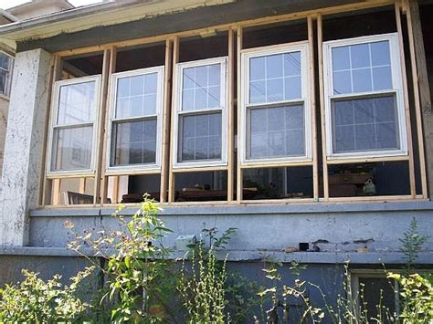 How To Enclose A Screened In Porch by Options To Enclose Screened Lanai Windows Ehow