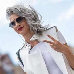Coupe Homme Cheveux Gris : comment bien porter les cheveux gris elle ~ Melissatoandfro.com Idées de Décoration