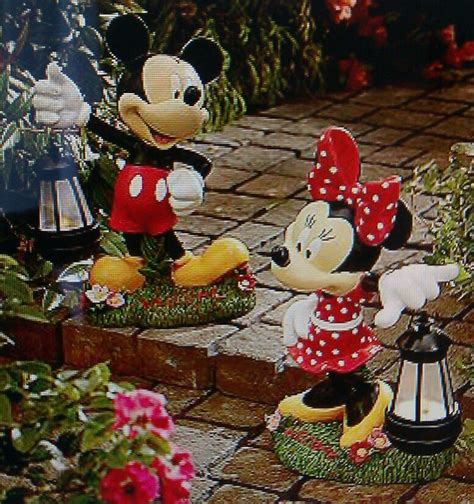 mickey mouse garden decor 17 best images about disney outdoor decor on