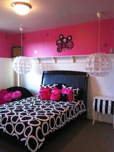 cool bedrooms  teens girls black  white sleek
