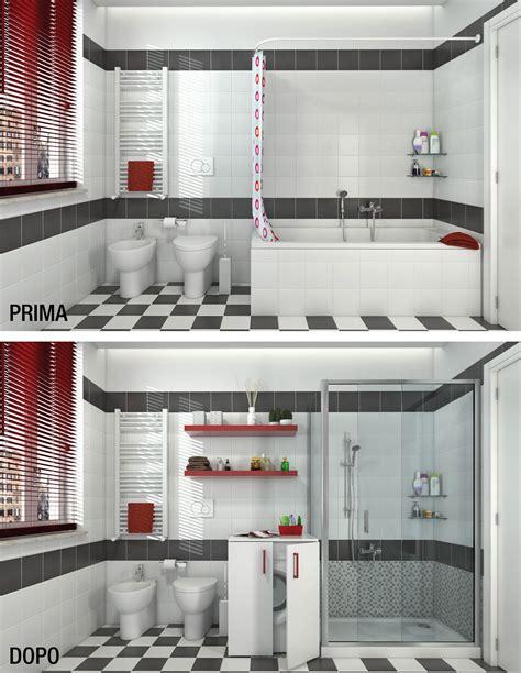 trasformare vasca in doccia bagno trasformare la vasca in doccia cose di casa