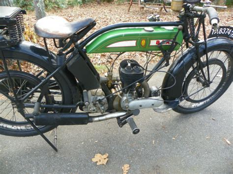 1924 Bsa Motorcycle L24 350cc