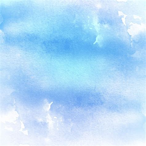 Watercolor texture blue color Free Vector