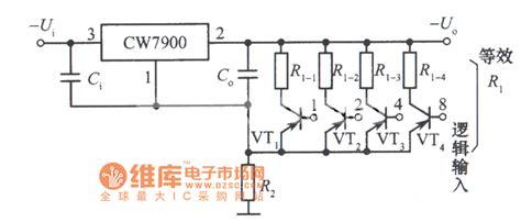 Digital Control Integrated Voltage Regulator Circuit