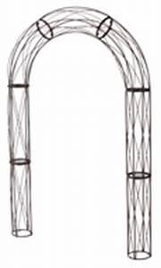 Arche Metal Pour Plante Grimpante : arche jardin pour plantes grimpantes ~ Premium-room.com Idées de Décoration