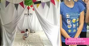 8 Ideas para organizar un pijama party muy divertido LA ESPÁTULA VERDE