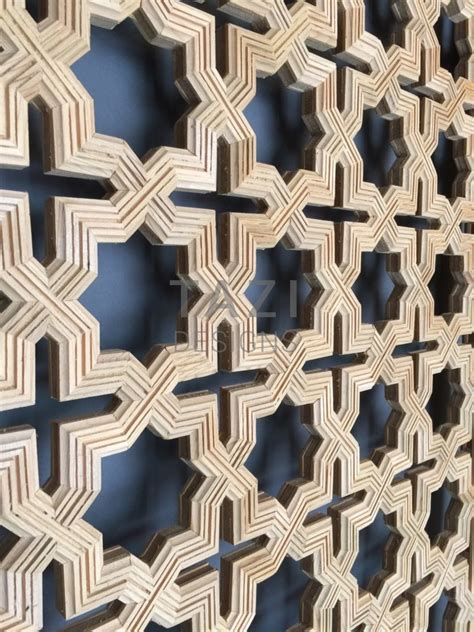moroccan wood screen tbiie tazi designs