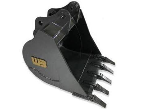 werk brau  mini excavator bucket   lb weight class mach boltzequipmentpartscom