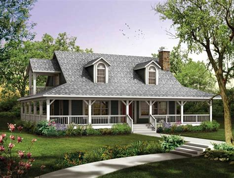House Plans With Wrap Around Porches Plan For Home