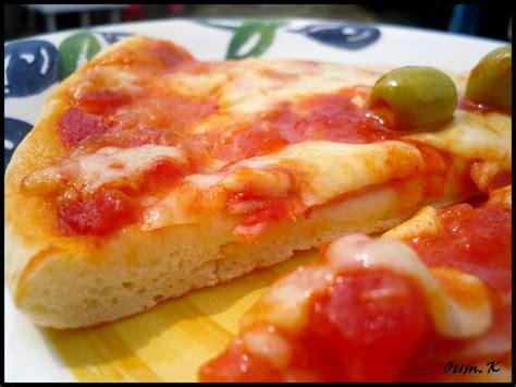 pate a pizza avec levure de boulanger pizza avec une pate extraordinaire inratable le de