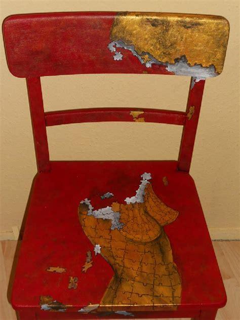 Bemalte Stühle bemalte stühle bild mond bemalte st hle bemalte m bel acrylmalerei