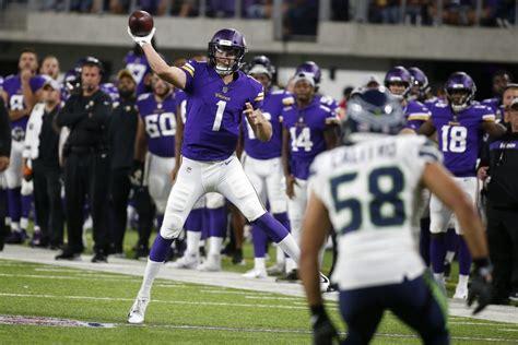 seahawks  vikings highlights game rewind