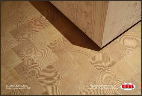 Rhinewood End Grain Wood Tiles
