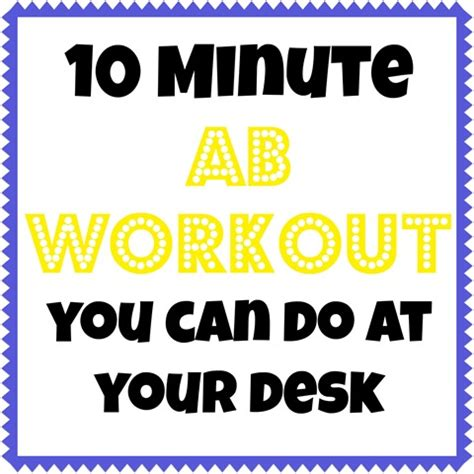 workout at your desk 10 minute workouts you can do at your desk peanut butter