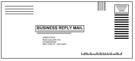Business Reply Mail Template by Business Reply Envelope Template 28 Images Format For