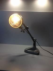 Lampe Type Industriel : sculpture lampe style industriel ~ Melissatoandfro.com Idées de Décoration