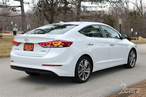 hyundai elantra limited review webcarz