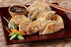 Chinese Dumplings With Tofu Mushroom And Noodles Recipe