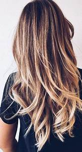 Balayage Blond Braun : die besten 25 balayage ideen auf pinterest balayage haar sommerhaar und ombr hair ~ Frokenaadalensverden.com Haus und Dekorationen