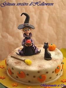 Gateau D Halloween : g teau sorci re d 39 halloween et tutorials macaronette et cie ~ Melissatoandfro.com Idées de Décoration