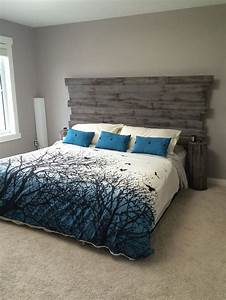 517 best images about our home on pinterest diy With barnwood headboard king
